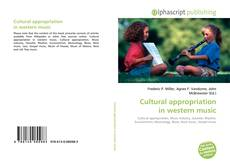 Bookcover of Cultural appropriation in western music