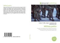 Capa do livro de Military police