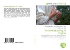 Обложка Modernist poetry in English