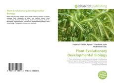 Bookcover of Plant Evolutionary Developmental Biology