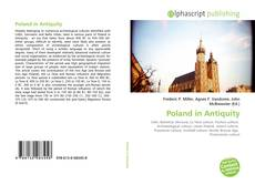 Bookcover of Poland in Antiquity