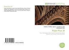 Buchcover von Pope Pius XI