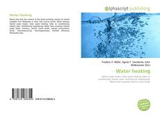 Bookcover of Water heating