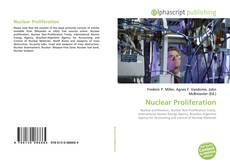 Buchcover von Nuclear Proliferation