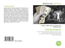 Portada del libro de Loyalty program