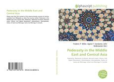 Portada del libro de Pederasty in the Middle East and Central Asia