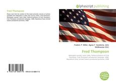 Bookcover of Fred Thompson