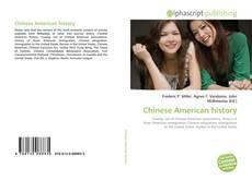 Capa do livro de Chinese American history