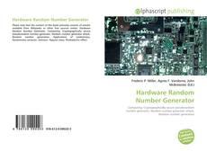 Capa do livro de Hardware Random Number Generator