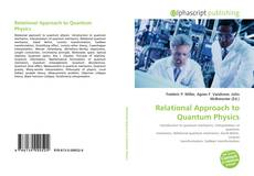 Couverture de Relational Approach to Quantum Physics