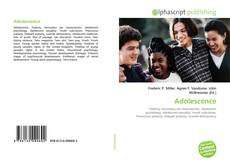 Bookcover of Adolescence