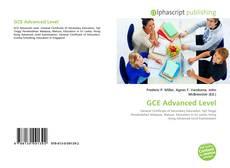 Buchcover von GCE Advanced Level