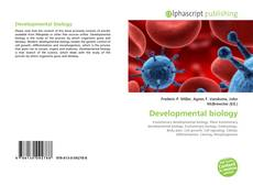 Bookcover of Developmental biology