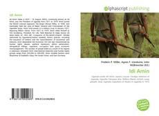 Bookcover of Idi Amin