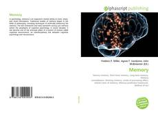 Bookcover of Memory