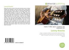 Bookcover of Lenny Kravitz