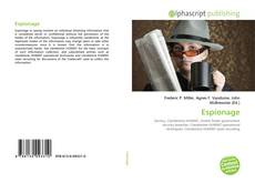 Bookcover of Espionage