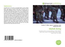 Bookcover of Mahdi Army