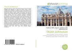 Buchcover von Church architecture