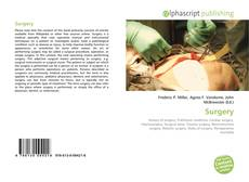 Bookcover of Surgery
