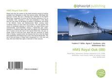 Buchcover von HMS Royal Oak (08)
