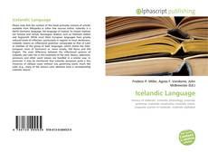 Buchcover von Icelandic Language