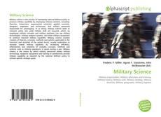 Capa do livro de Military Science