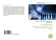 Bookcover of Cisco Systems