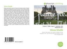 Mirza Ghalib kitap kapağı