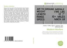 Bookcover of Modern Warfare