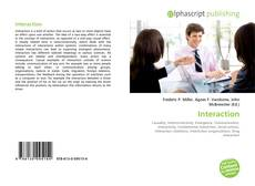 Bookcover of Interaction