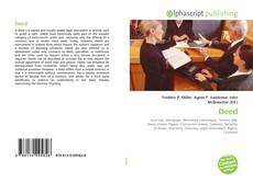 Buchcover von Deed