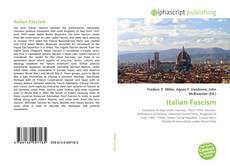 Italian Fascism的封面