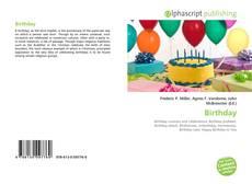 Bookcover of Birthday