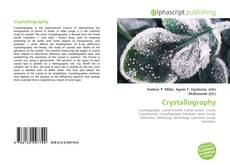 Bookcover of Crystallography