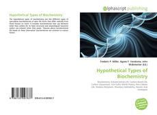 Borítókép a  Hypothetical Types of Biochemistry - hoz