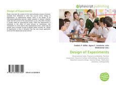 Couverture de Design of Experiments