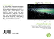 Capa do livro de Arizona Cardinals