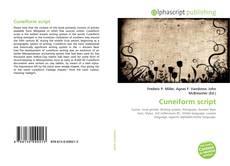 Bookcover of Cuneiform script