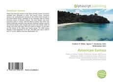 Bookcover of American Samoa