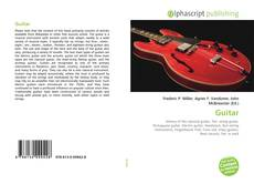 Bookcover of Guitar