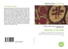 Couverture de Anarchy in Somalia