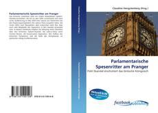 Buchcover von Parlamentarische Spesenritter am Pranger