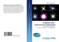Capa do livro de Angelina Jolie - Superwoman Hollywoods