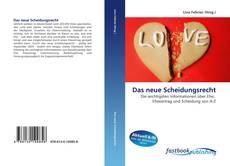 Bookcover of Das neue Scheidungsrecht