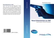 Buchcover von Neue Erkenntnisse zur RAF