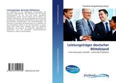 Capa do livro de Leistungsträger deutscher Mittelstand