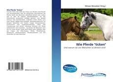 """Capa do livro de Wie Pferde """"ticken"""""""
