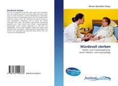Capa do livro de Würdevoll sterben