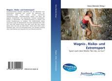 Buchcover von Wagnis-, Risiko- und Extremsport